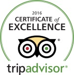 Trip Advisor -Certificate of Excellence